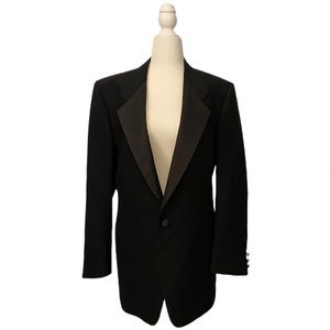 Mani by Giorgio Armani Black Blazer Coat